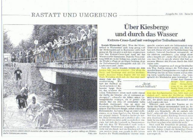 BT Zeitungsbericht vom 03.08.2009
