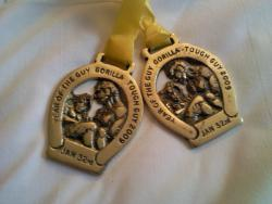 2 Medaillen